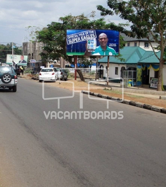 48 Sheet Billboard – Model Market Road, Makurdi