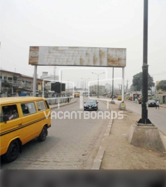 Eye Catcher Billboard – Sura Market, Lagos Island