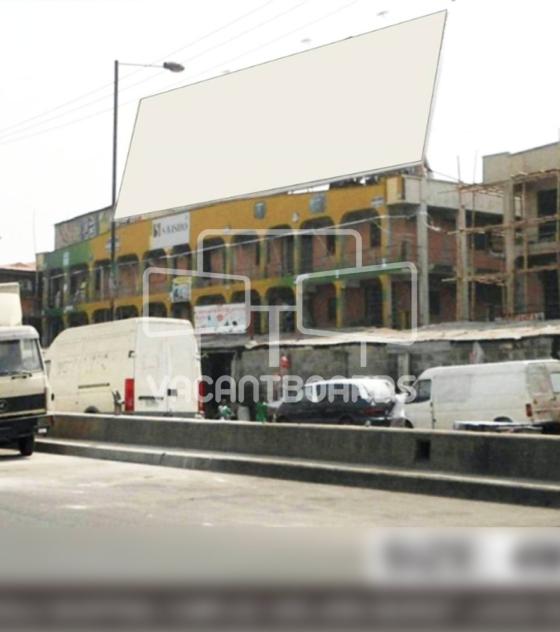 Rooftop Biilboard – Oke Arin Market, Lagos Island