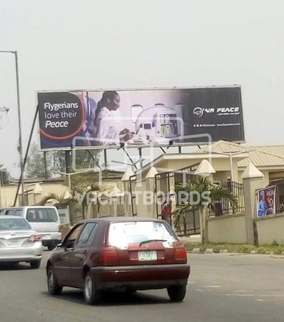 Ultrawave Billboard – Opebi Link Bridge, Ikeja, Lagos