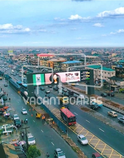 LED Gantry Billboard – Fadeyi, Ikorodu Road, Lagos