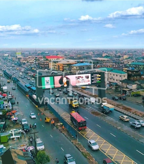 Gantry LED Billboard, Fadeyi, Lagos
