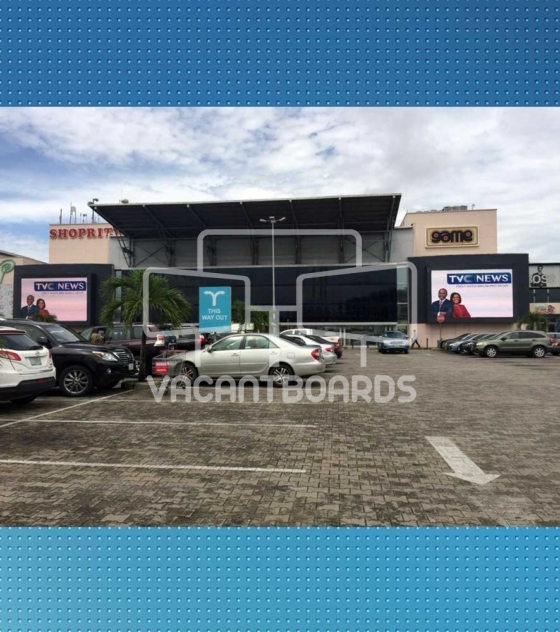 LED Billboard – The Palms Mall, Lekki
