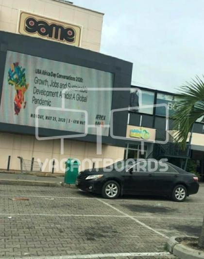 LED Billboard – The Palms Mall, Lekki, Lagos