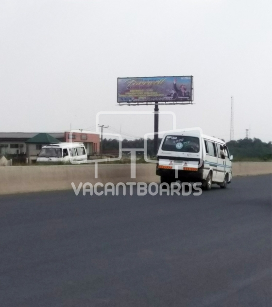 Unipole Billboard – Lagos Ibadan Expressway by Mountain of Fire and Miracle Ministries, Magboro