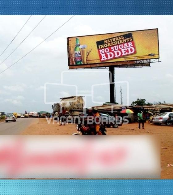 Unipole Billboard – Sango Ota