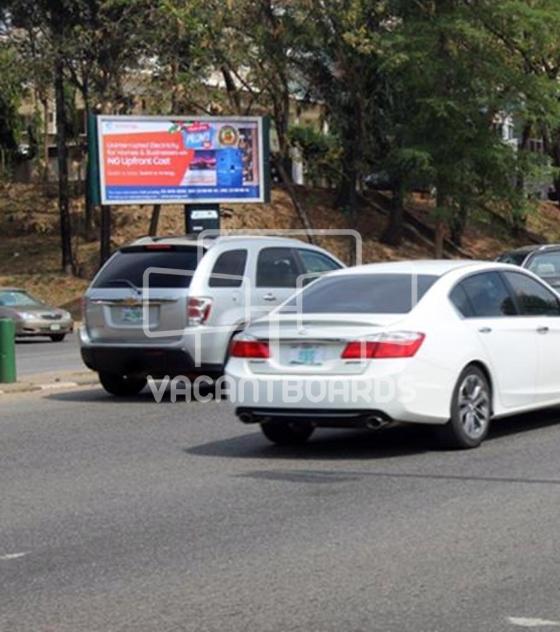 Backlit Billboard – Shehu Shagari Way, Maitama, Abuja