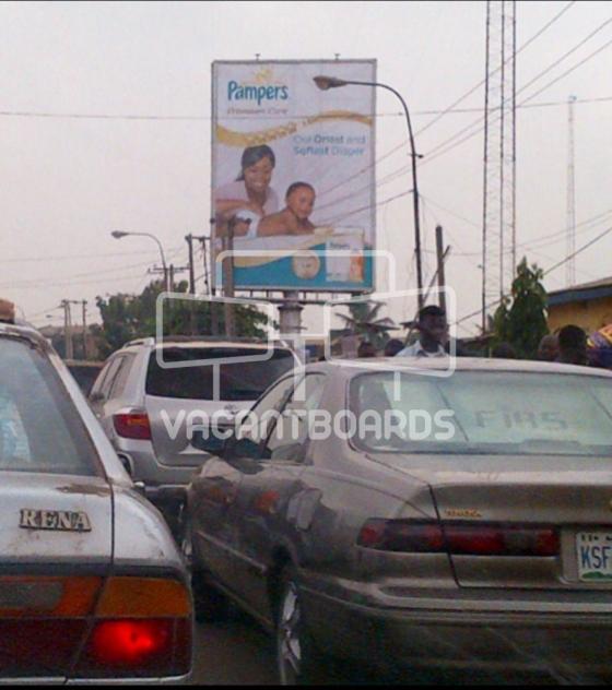 Portrait Billboard, Ogba Bus Stop, Ogba
