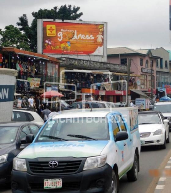 Rooftop Billboard – Obafemi Awolowo Way, Ikeja