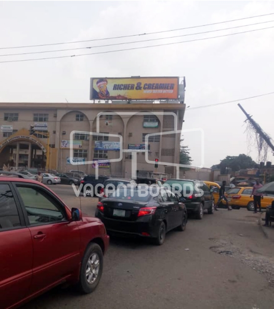 Rooftop Billboard – LSDPC, Ijaiye Road, Ogba
