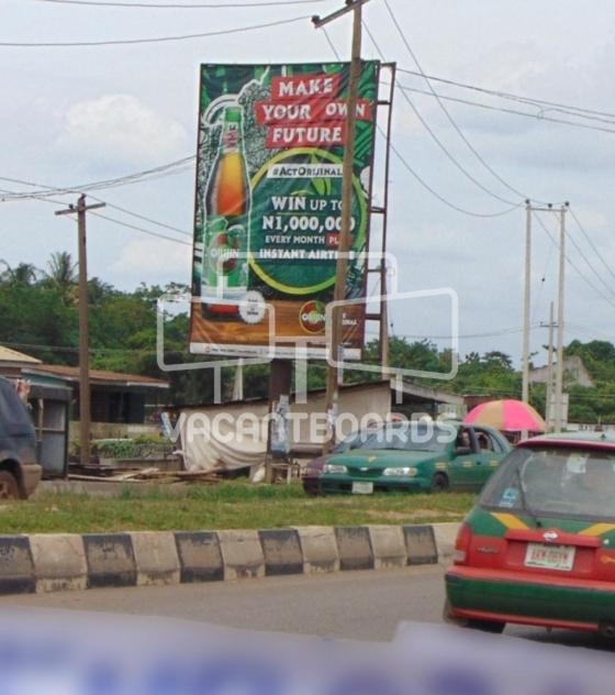 Portrait Billboard – Lagos Abeokuta Expressway, Brewery Bus Stop, Abeokuta