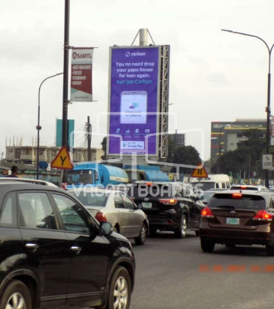 Portrait Billboard – Alfred Rewane Road, Ikoyi, Lagos