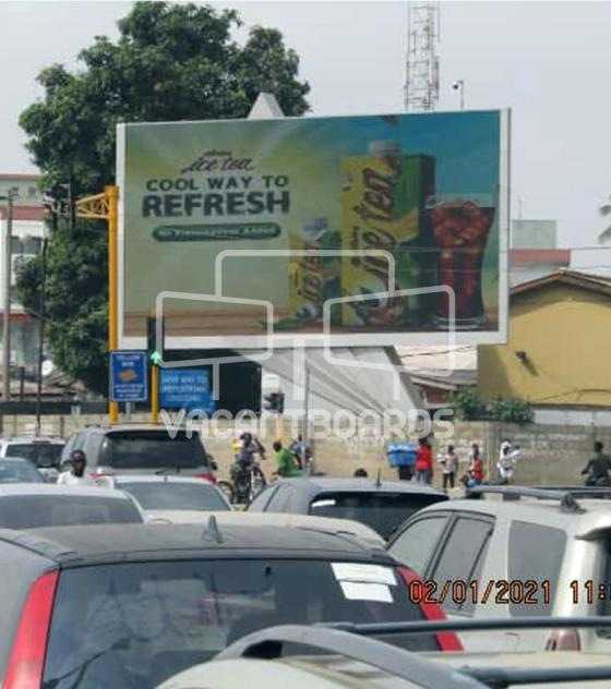 LED Billboard – Allen Avenue Roundabout, Ikeja, Lagos